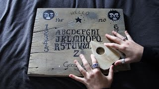 The Truth About Ouija Boards / How to make your own!