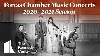 2020-2021 Fortas Chamber Music Concerts Season Announcement