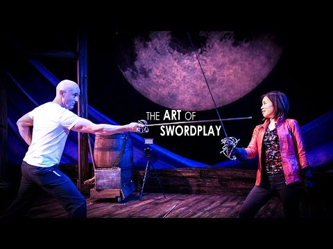 Swordplay Technique and Lessons - On Stage at Cyrano