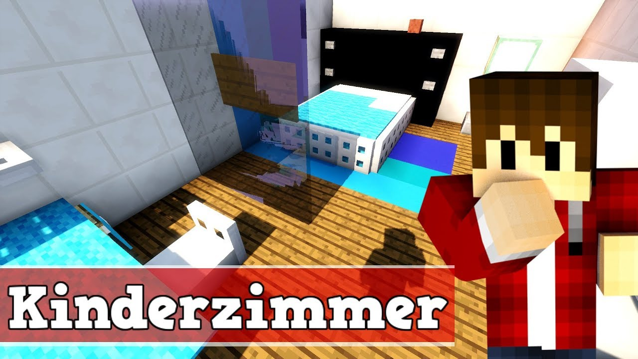 Wie baut man ein modernes kinderzimmer in minecraft for Minecraft kinderzimmer