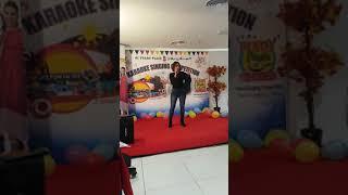 singing karaoke competition at Al Falah Plaza Al Ain City U.A.E