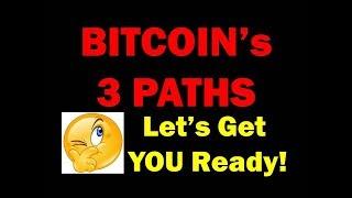 3 BITCOIN SCENARIOS TO PREPARE FOR! - Technical Analysis Litecoin Ethereum Too!