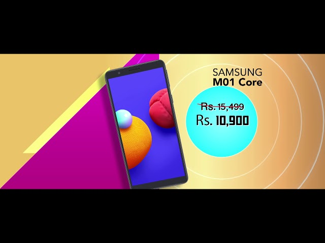 Mobitel Upahara Samsung Device Offers (Eng) TVC
