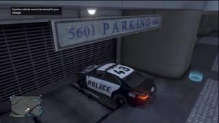 Полицейская машина выехала на патрулирование  Мультик про полицейские машинки дл