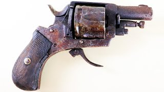 Old Wrecked Revolver - Restoration ... Mission Failed