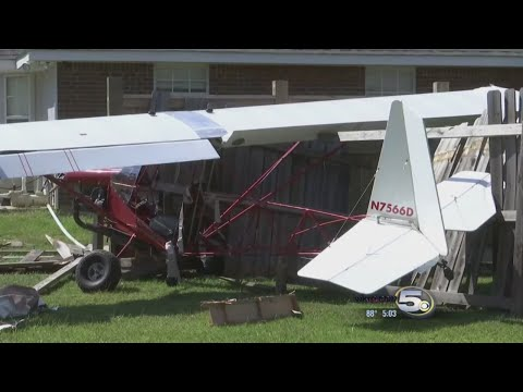 Ultralight Plane Crashes into Backyard in Ocean Springs