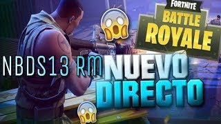 Fortnite battle royale jugando tactico en busca de victorias (Juego con viewers)