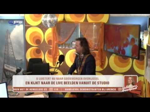 Erwin Nyhoff in Goeiemorgen Overijssel 'Sweet 70's'