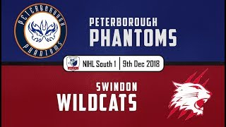 Highlights: Phantoms vs Swindon Wildcats 09/12/18