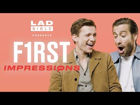 First Impressions | Tom Holland hates Jake Gyllenhaal's impression of him!