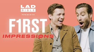 First Impressions | Tom Holland hates Jake Gyllenhaal's impression of him!
