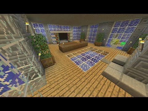 Minecraft Tutorial: How To Make An Awesome UNDERWATER!! Survival House (ASH#17)