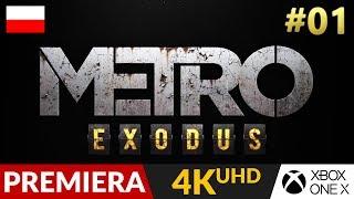 Metro Exodus PL  #1 (odc.1) ❄️ Gameplay po polsku 4K