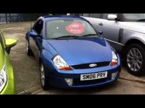 60 second sale Ford Streetka Winter Edition 1.6