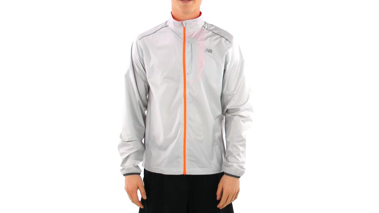 new balance running jacket