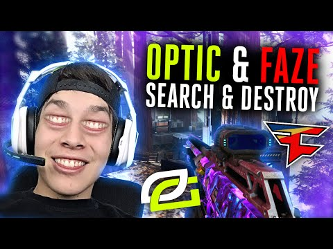 OpTic & FaZe Search And Destroy!