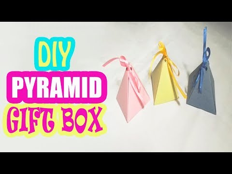 DIY Easy Pyramid Gift Box