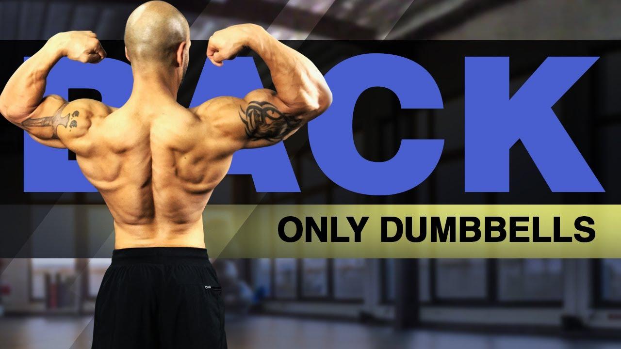 5 Best Back Exercises With Dumbbells (#CrazyLats)
