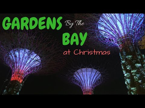 Gardens By The Bay at Christmas | SINGAPORE Travel