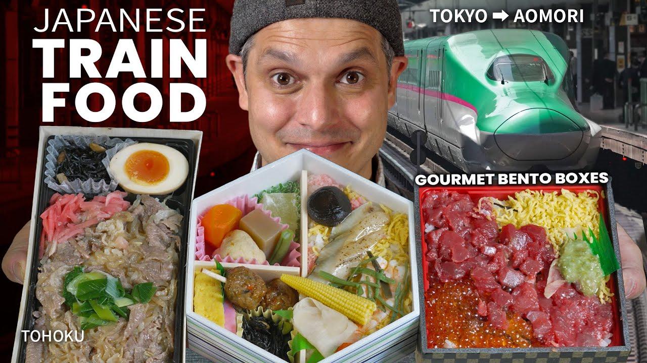 Japanese Gourmet Train Food | Shinkansen Bento Adventure ★ ONLY in JAPAN