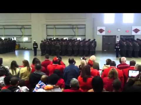 Alpha Company Graduation