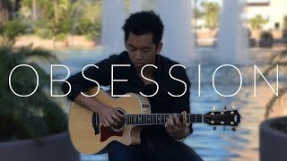 Obsession (Vice ft. Jon Bellion) - Fingerstyle Acoustic Guitar Cover