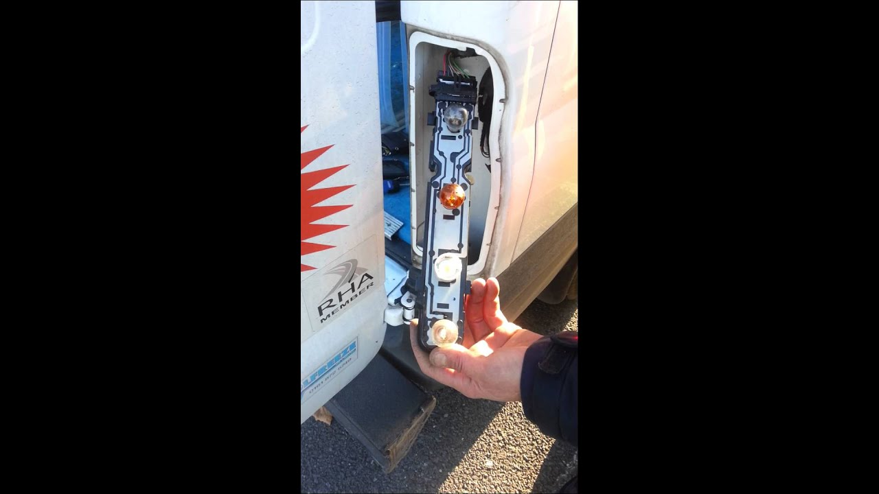 Changing Rear Lights On Ford Transit Youtube