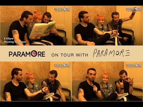 PARAMORE TV - 2013 Prague Episode (Exclusive Interview with Paramore & Dutch Uncles)