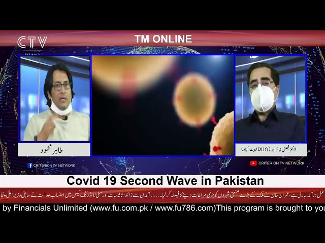 Tm Online | Covid 19 second wave in Pakistan
