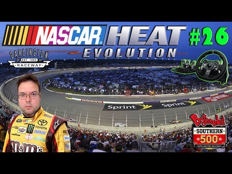 Nascar Heat Carreira #26 Darlington Raceway - Estamos de Pat