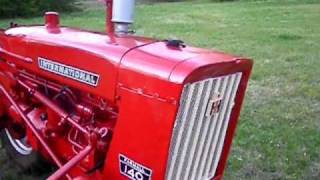 Farmall 140 with Front & Rear Cultivator Attachment (FOR SALE)