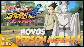Naruto Storm 4 ROAD TO BORUTO, CONFIRMADO Momoshiki e Shikadai + Novo Boss battle - Nillo21.