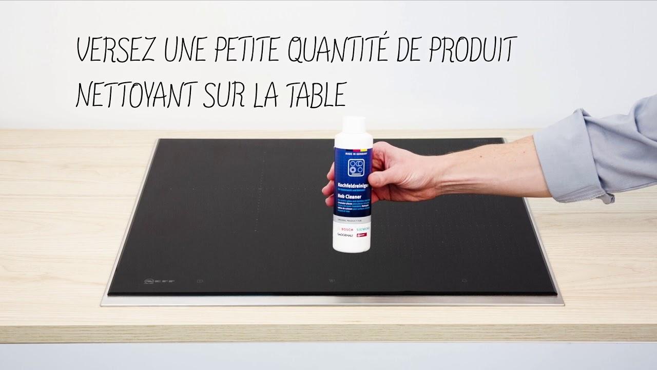 Produit Pour Nettoyer Vitroceramique comment nettoyer vos plaques en céramique et à induction ?