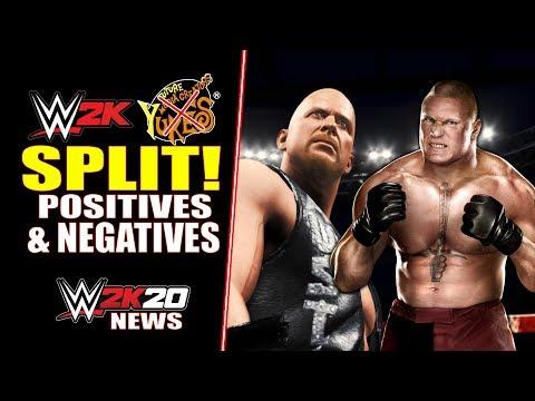 WWE 2K20 BREAKING NEWS: 2K & Yukes SPLIT! (Positives & Negatives For NEW Games) |