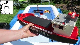 Sunny Day Paddling Pool Grandad's Boats #8 Playmobil Cargo Ship