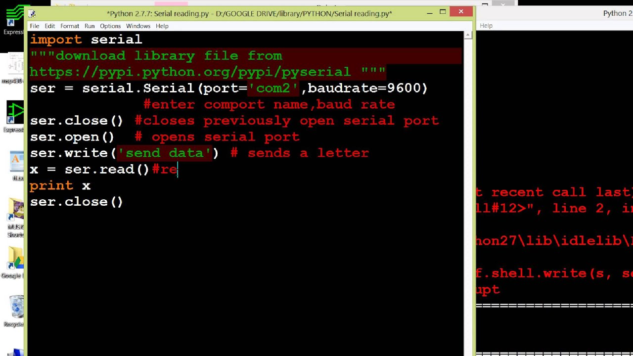 HOW TO READ SERIAL DATA IN PYTHON USING XCTU OR TO ARDUINO