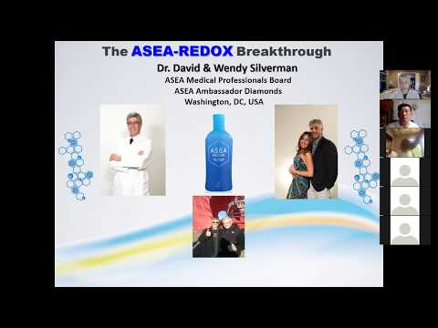 ASEA PRODUCT-ONLY EXPLAINED (No business) Dr. David Silverman