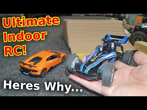 The Most Cheap Indoor Fun YOU Can Have With RC Cars - Home Stunt Track