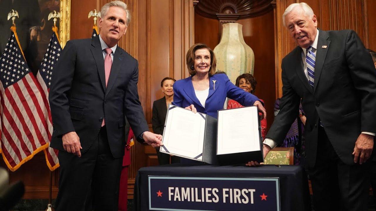 WATCH LIVE: House passes $2 trillion coronavirus emergency relief bill