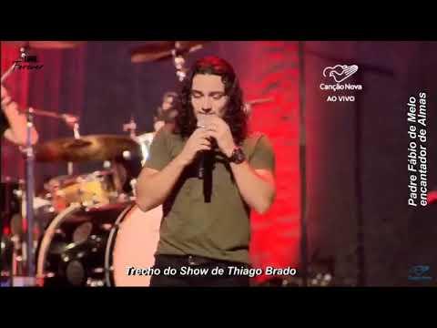 Trecho do Show de Thiago Brado - O que estamos gravando no coração das pessoas?