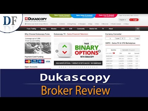 Dukascopy Review 2018 - By DailyForex.com