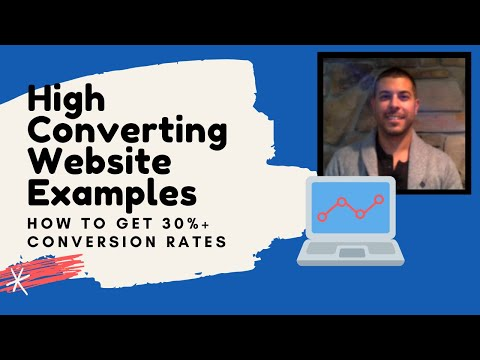 High Converting Website Examples | How To Get 30%+ Conversion Rates