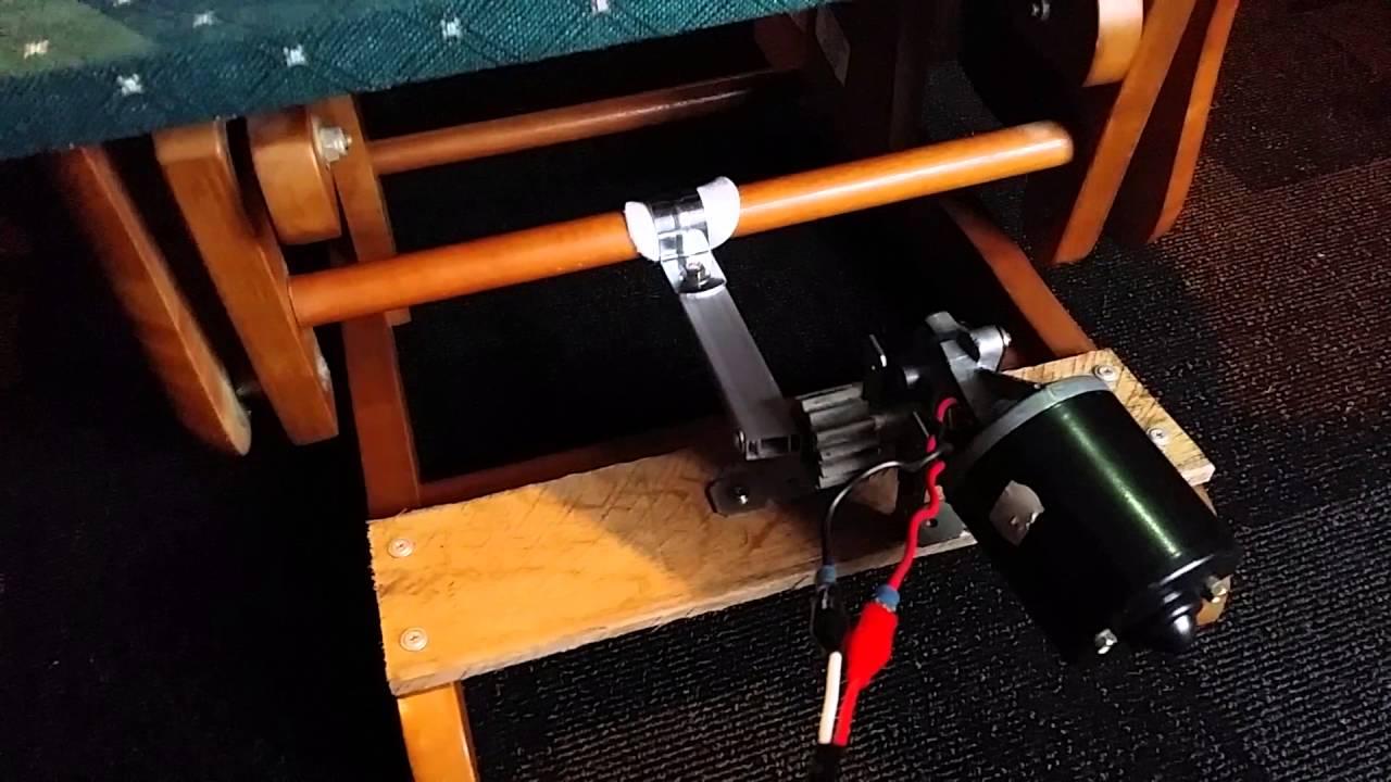 Animated Rocking Chair Motor Mechanism Youtube