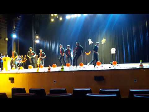 BPT boys dance performance-machi open the bottle-st johns medical college
