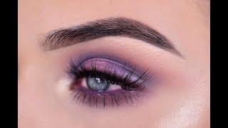 ABH Norvina Eyeshadow Palette | Purple Eye Makeup Tutorial + Review Mp3