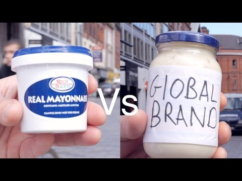 What is the worlds best mayonnaise for catering suppliers? Rich Sauces or a global brand?
