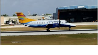 Cayman Airways Express Embraer EMB-120 Brasilia Morning Departure from Grand Cayman(MWCR)