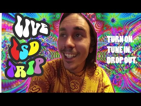 ANSWERING QUESTIONS ON LSD - LIVE BROADCAST (LIVE EGO DEATH, TRIPPING, ACID TRIP REPORT)