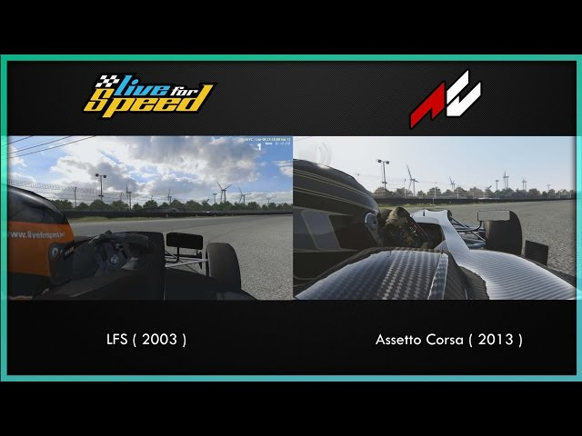 10 Years, Then And Now - Live for Speed VS Assetto Corsa