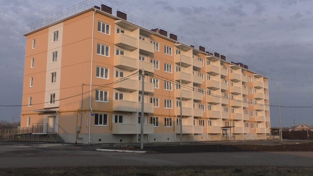 Сиротам вручили ключи от новых квартир